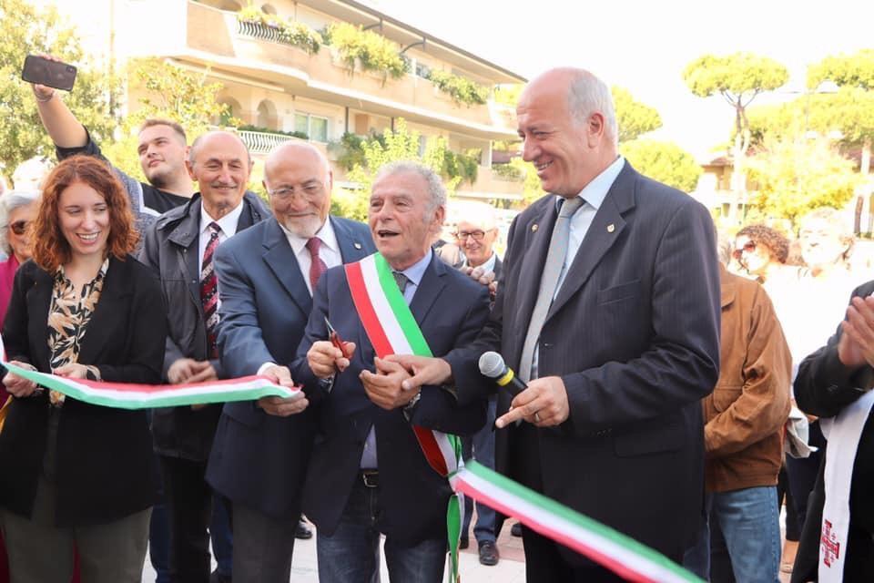 Loris De Cesari, Luigi Nori, Sindaco Massimo  Medri, Oriano Zamagna